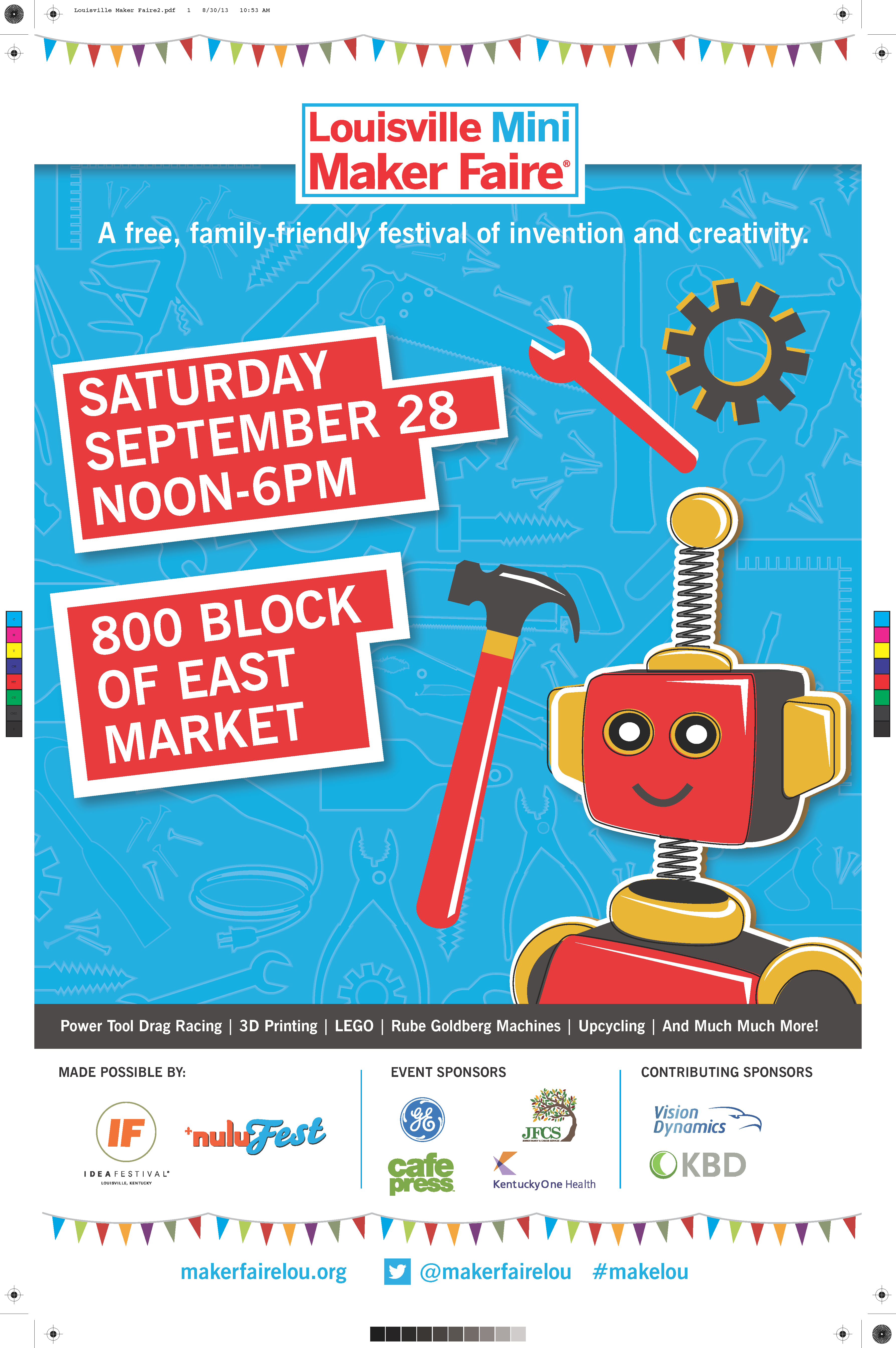 the poster is ready louisville maker faire