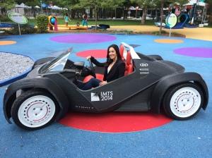 3-D Car